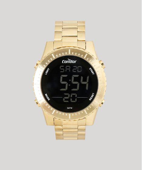 f18da9637 Relogio-Digital-Condor-Masculino---COBJ3463AA4D-Dourado-9553831- ...