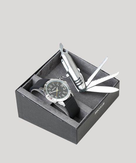 Kit-de-Relogio-Analogico-Seculus-Masculino---Canivete---23663G0SVNI2K-Prateado-9553477-Prateado_1