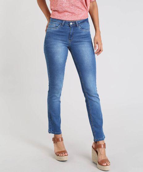 Calca-Jeans-Feminina-Reta-Azul-Medio-9553122-Azul_Medio_1