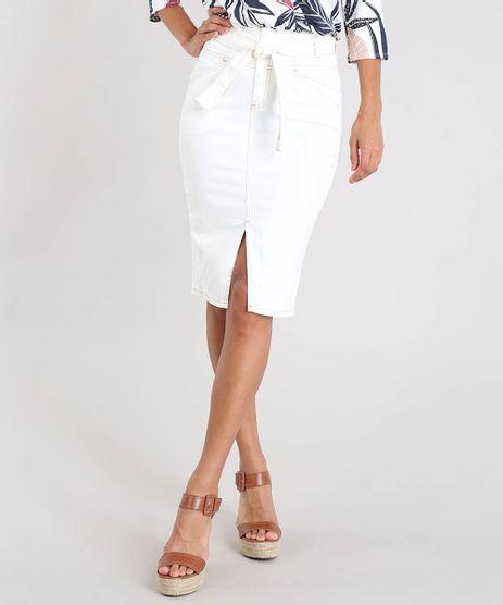 Saia-Lapis-de-Sarja-Feminina-Clochard-com-Fenda-Off-White-9539289-Off_White_1
