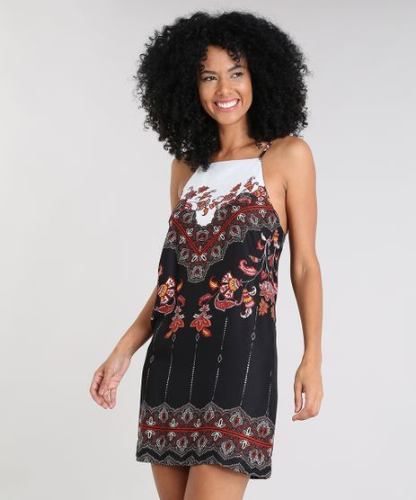 Vestido-Feminino-Curto-Halter-Neck-Estampado-de-Arabescos-Alca-Fina-Preto-9411278-Preto_1