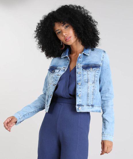 Jaqueta-Jeans-Feminina-Cropped-com-Bolsos-Azul-Claro-9537696-Azul_Claro_1