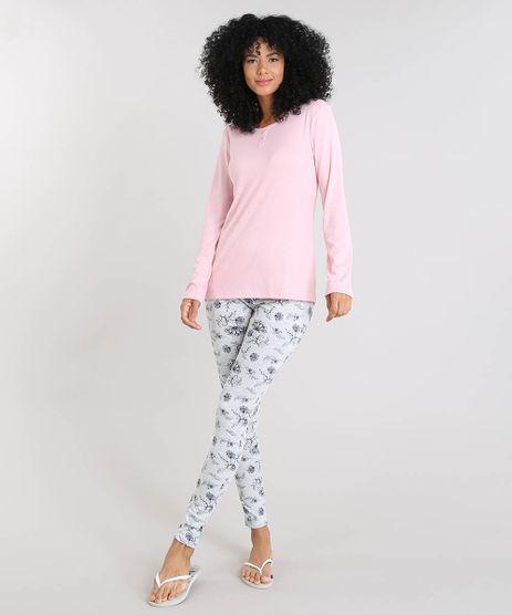 Pijama-Feminino-Estampado-Floral-Manga-Longa-Rosa-9508008-Rosa_1