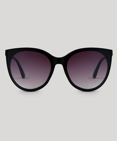 4481a69762b17 Oculos-de-Sol-Redondo-Feminino-Oneself-Preto-9566214-