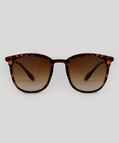af809f4aba9d0 Oculos-de-Sol-Quadrado-Unissex-Oneself-Tartaruga-9553889-