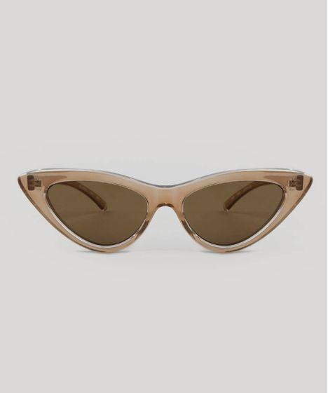 23f5b967c Oculos-de-Sol-Gatinho-Feminino-Oneself-Marrom-9547487- ...