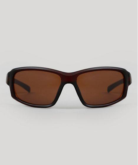 e4aabc10d Oculos-de-Sol-Quadrado-Masculino-Oneself-Marrom-9566190- ...