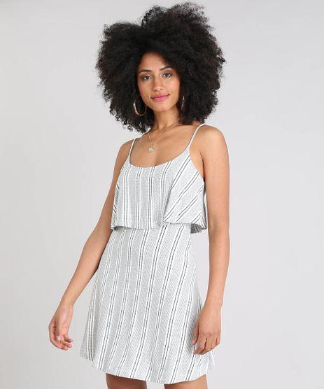 Vestido-Feminino-Curto-Evase-Listrado-com-Sobreposicao-Alca-Fina-Off-White-9519648-Off_White_1