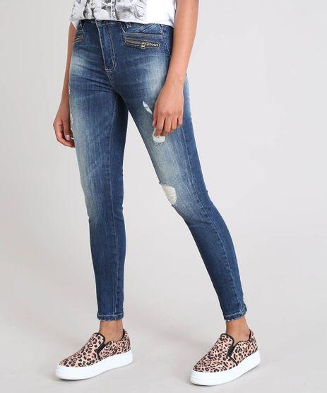 Calca-Jeans-Feminina-Sawary-Skinny-Destroyed-Azul-Escuro-9543137-Azul_Escuro_1