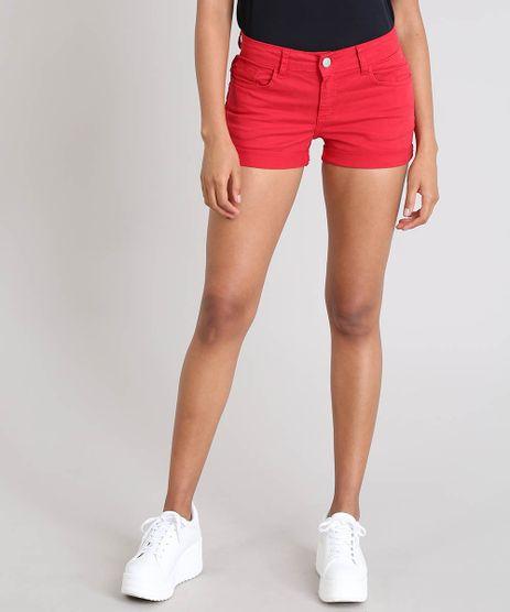 Short-de-Sarja-Feminino-Reto-com-Barra-Dobrada-Vermelho-9559292-Vermelho_1
