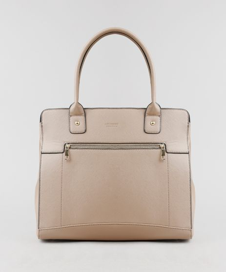 Bolsa-Feminina-Shopper-Grande-Bege-8458371-Bege_1