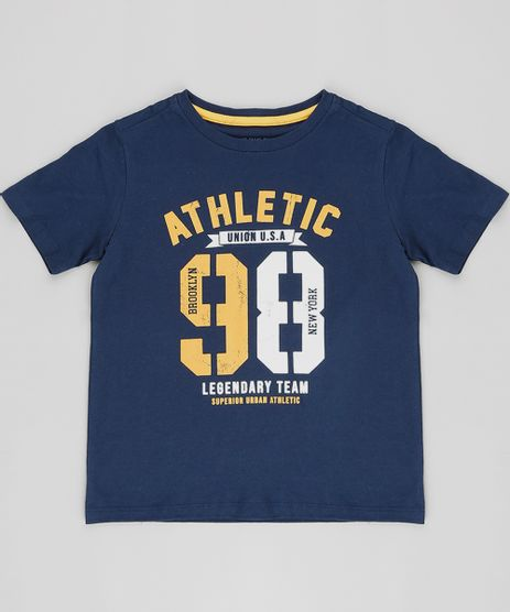 Camiseta-Infantil--Athletic-98--Manga-Curta-Gola-Careca-Azul-Marinho-9492976-Azul_Marinho_1