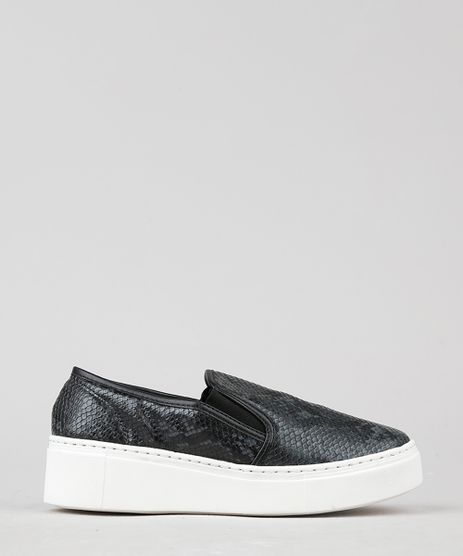 Tenis-Slip-On-Feminino-Flatform-Croco-Estampado-Animal-Print-Preto-9530795-Preto_1