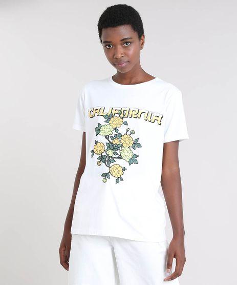 T-Shirt-Feminina-Mindset--California--Manga-Curta-Decote-Redondo-Off-White-9569906-Off_White_1