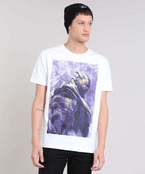 Camiseta-Masculina-Os-Vingadores-Thanos-Manga-Curta-Decote-Redondo-Branca-9485443-Branco_1