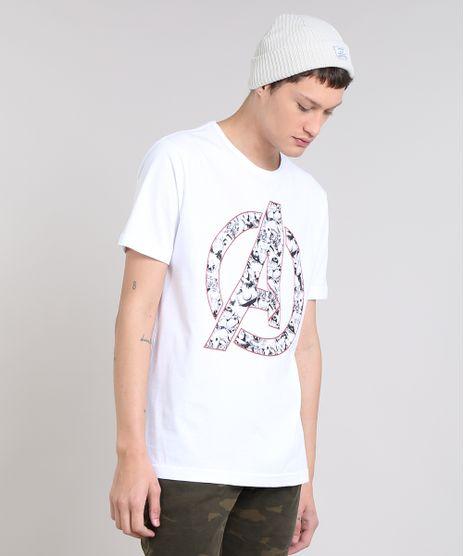 Camiseta-Masculina-Os-Vingadores-Manga-Curta-Gola-Careca-Branca-9559921-Branco_1