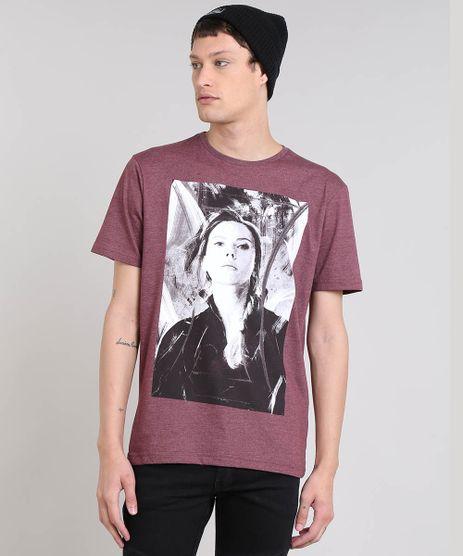 Camiseta-Masculina-Viuva-Negra-Manga-Curta-Gola-Careca-Vinho-9559922-Vinho_1