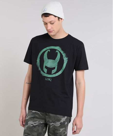 Camiseta-Masculina-Loki-Manga-Curta-Gola-Careca-Preta-9559923-Preto_1