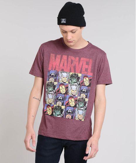 Camiseta-Masculina-Os-Vingadores-Manga-Curta-Gola-Careca-Vinho-9559918-Vinho_1