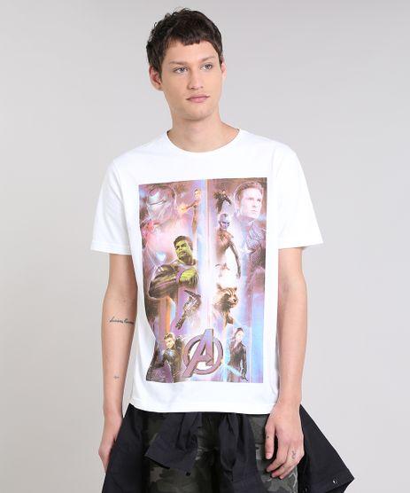 Camiseta-Masculina-Os-Vingadores-Manga-Curta-Gola-Careca-Off-White-9485445-Off_White_1