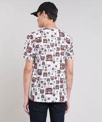 1362bf936 Camiseta Masculina Estampada Duff Beer Os Simpsons Manga Curta Gola ...