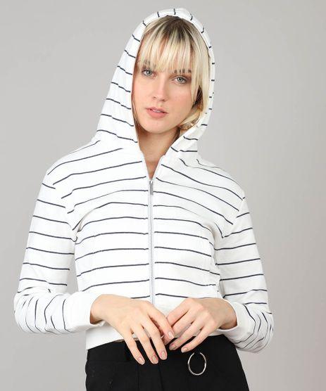 Blusao-Feminino-Basico-em-Moletom-Listrado-com-Capuz-Off-White-9340743-Off_White_1