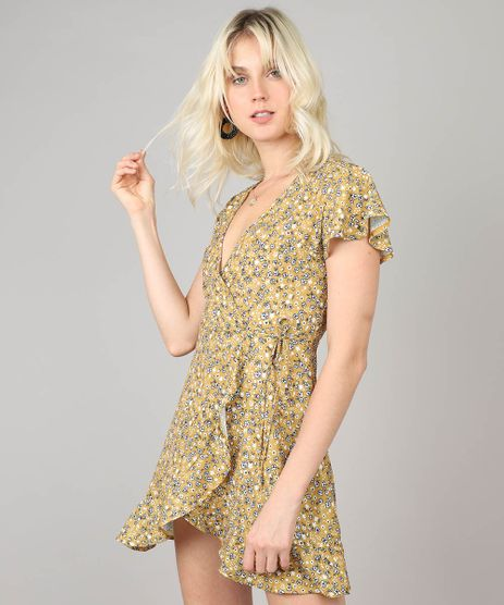 Vestido-Feminino-Envelope-Estampado-Floral-Amarelo-9490068-Amarelo_1