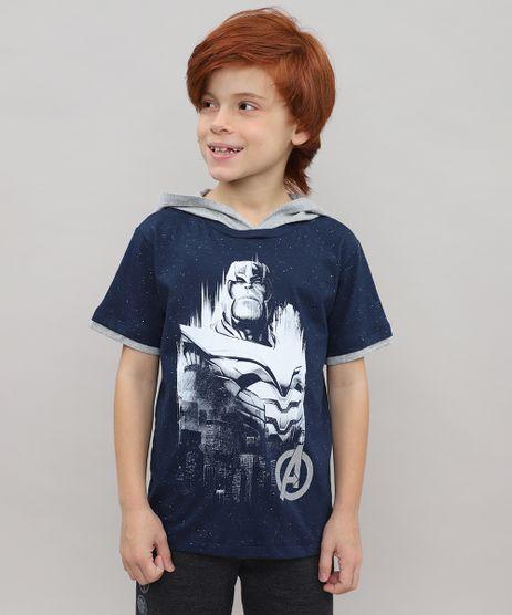 Camiseta-Infantil-Thanos-Os-Vingadores-com-Capuz-Manga-Curta-Azul-Marinho-9518790-Azul_Marinho_1