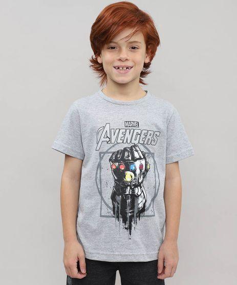 Camiseta-Infantil-Thanos-Os-Vingadores-com-Capuz-Manga-Curta-Cinza-Mescla-9550632-Cinza_Mescla_1