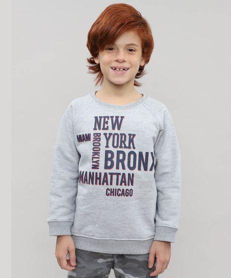 Blusao-Infantil-em-Moletom-com-Estampa--New-York--Cinza-Mescla-9455996-Cinza_Mescla_1