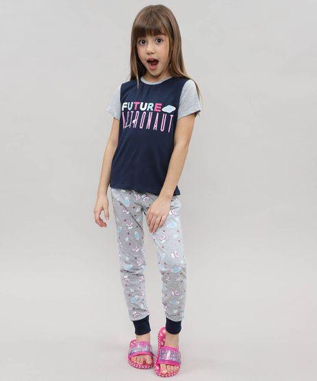 Pijama-Infantil--Future-Astronaut--Manga-Curta-Azul-Marinho-9476467-Azul_Marinho_1