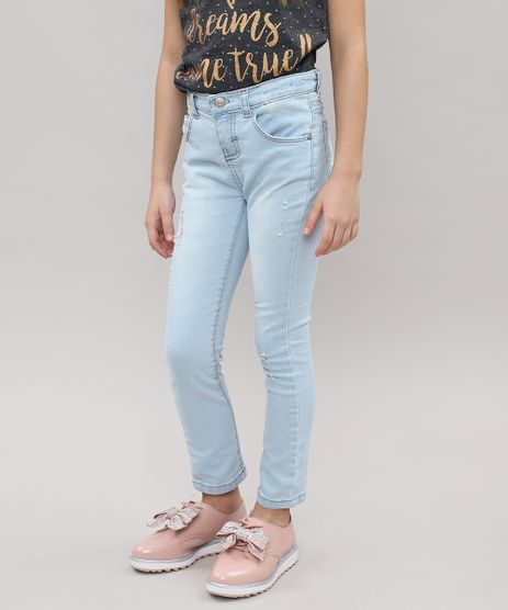 Calca-Jeans-Infantil-com-Puidos-Jeans-Claro-9467436-Jeans_Claro_1
