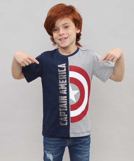 Camiseta-Infantil-Capitao-America-Metalizada-Manga-Curta-Cinza-Mescla-9524306-Cinza_Mescla_1