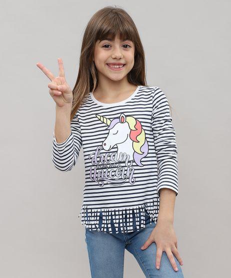 Blusa-Infantil-Listrada-com-Franjas-e-Estampa-de-Unicornio-Manga-Longa-Branca-9442900-Branco_1