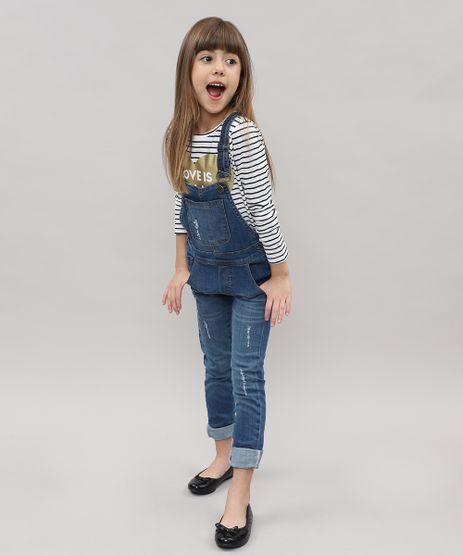 Macacao-Jeans-Infantil-Destroyed-com-Barra-Dobrada-Azul-Medio-9416222-Azul_Medio_1