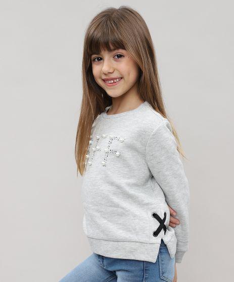 Blusao-Infantil-em-Moletom-com-Bordado-Cinza-Mescla-9433659-Cinza_Mescla_1