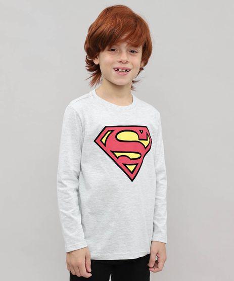 Camiseta-Infantil-Super-Homem-Flocada-Manga-Longa-Cinza-Mescla-Claro-9532945-Cinza_Mescla_Claro_1