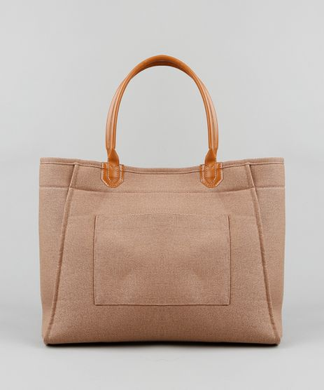 Bolsa-Shopper-Feminina-com-Bolso-Caramelo-9393648-Caramelo_1