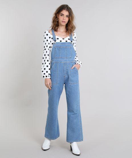 Macacao-Jeans-Feminino-Mindset-Flare-Azul-Claro-9480159-Azul_Claro_1