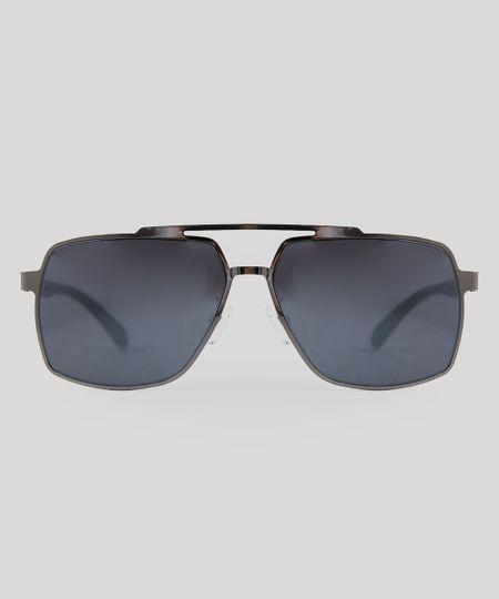 a8608b18a Oculos Sol Quadrado Flexivel Não Quebra Izaker Azul 717   Menor ...