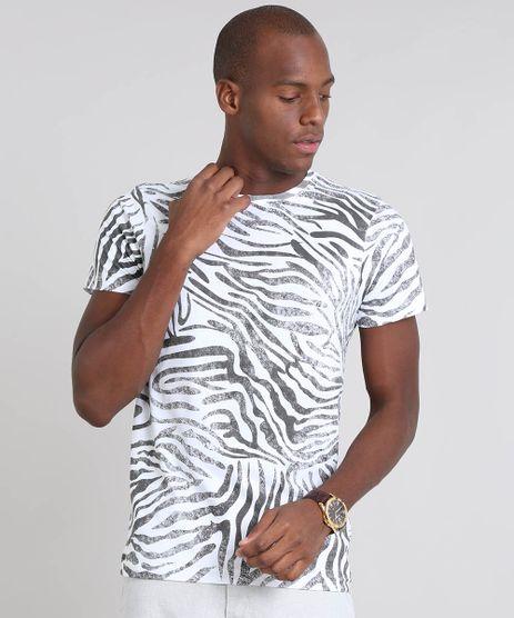 Camiseta-Masculina-Estampada-Animal-Print-Manga-Curta-Gola-Careca-Branca-9570711-Branco_1