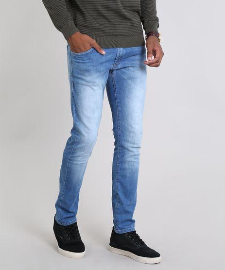 Calca-Jeans-Masculina-Slim-Azul-Medio-9467797-Azul_Medio_1