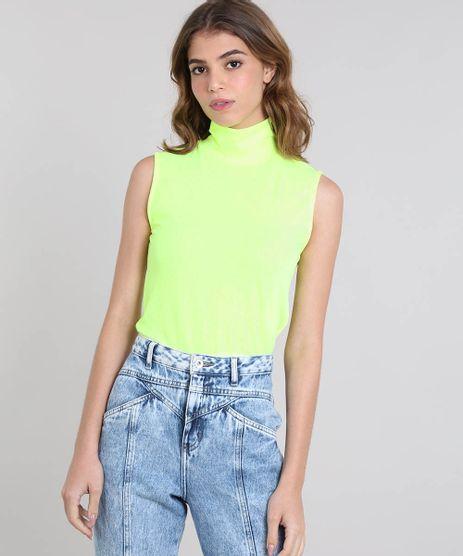 Regata-Feminina-Mindset-Canelada-Gola-Alta--Verde-Neon-9538853-Verde_Neon_1