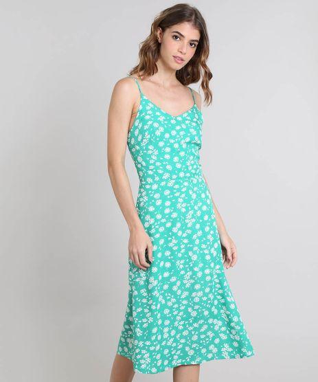 Vestido-Feminino-Mindset-Estampado-Floral-com-Alcas-Verde-9585917-Verde_1