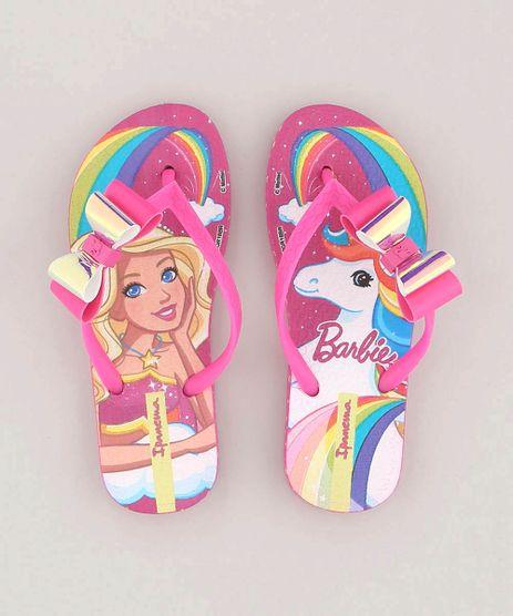 Chinelo-Infantil-Ipanema-Barbie-e-Unicornio-com-Laco-Pink-9143691-Pink_1