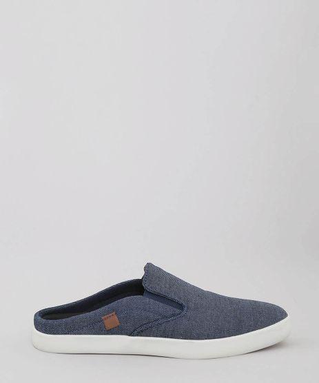 Tenis-Masculino-Jeans-Slip-On-Mule-Azul-Escuro-9529415-Azul_Escuro_1