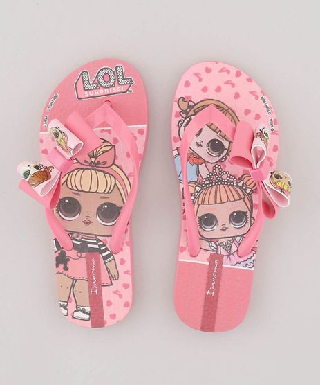 Chinelo-Infantil-Ipanema-Bonecas-LOL-Surprise-com-Laco-Rosa-9557039-Rosa_1