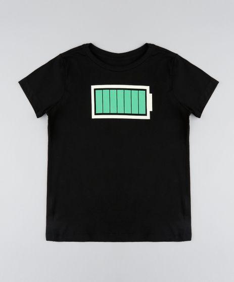 Camiseta-Infantil-Bateria-Carregada-Manga-Curta-Gola-Careca-Preta-9541768-Preto_1