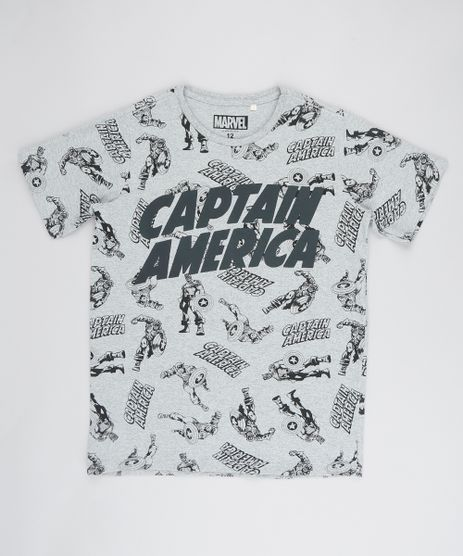 Camiseta-Infantil-Capitao-America-Manga-Curta-Gola-Careca-Cinza-Mescla-9541791-Cinza_Mescla_1