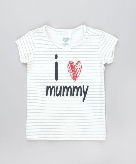 Camiseta-Infantil--I-Love-Mummy--Estampada-Listrada-Manga-Curta-Off-White-9540153-Off_White_1